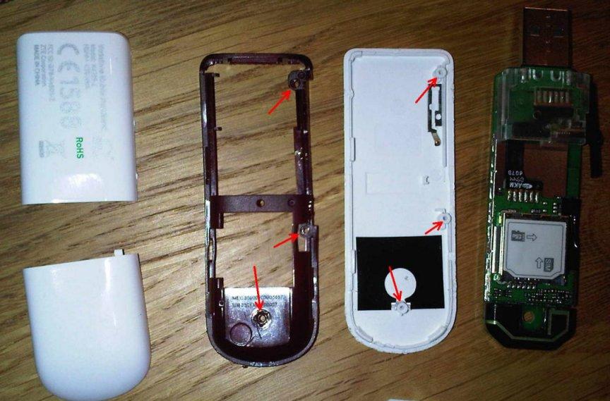Vodafone Business Stick K4505-Z geöffnet
