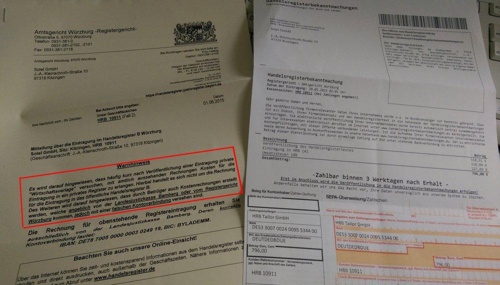 Handelsregisterbekanntmachungen.eu